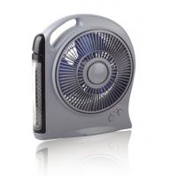 China Various Function Automotive Cooling Fans With LED Light , Rechargeable Battery Fan wholesale
