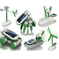 China 6 in 1 DIY Robot Kit Solar Powered Robot For Children Education wholesale