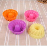 China Screw Shape Silicone Cupcake Molds Kids Favorable Eco Friendly Freezer Safe wholesale