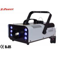 Quality Portable 900w Stage Fog Machine Party Smoke Machine With 6*3w 3 in 1 RGB LED X for sale