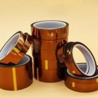 China high heat electrical pi tape Silicone Adhesive Polyimide For Electric Task or Solderingkapton film tape on sale