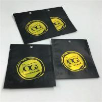 China Three Side Sealed  Zip Lock Bags Resealable Aluminum Foil For Chemical Research Powder wholesale