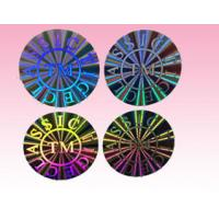 China custom round hologram sticker holographic sticker label for sale manufacturer wholesale