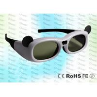 China Micro USB rechargeable Child style Japanese 3D TV IR Active Shutter 3D Glasses wholesale