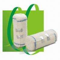 China Cotton Crepe Bandages, Nice Skin Tolerance, Comfortable to Wear, Permeable to Air, Absorbent wholesale