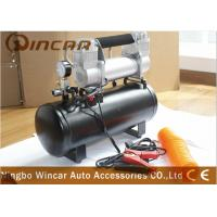 China 8 Bar 12V Portable Air Compressor 4x4 Deflator 4wd Inflator Kit  8L Tank wholesale