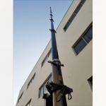 China 12m lockable pneumatic telescopic mast 15kg payloads NR-2750-12000-15L wholesale