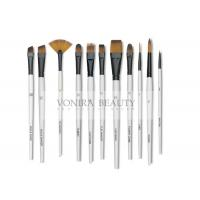 China 11pcs Art Body Paint Brushes Set for Oil Painting / Craft , Nail , Face Paint wholesale