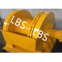China DNV Approved Marine Hydraulic Winch / Windlass Winch For Pulling Dragging 12 Tons wholesale