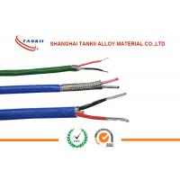 China J type Thermocouple wire with diameter 20 AWG 0.81mm  19* 0.08mm Multicore Cable with black color jacket wholesale