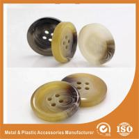 China OEM Round clear 4 hole plastic button for garment accessories Eco-friendly wholesale