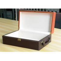 China Large Colorful Printed Gift Boxes Embossing  , Gloss Finished For Jewelry Packing wholesale