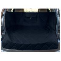 China Extended Width Quilted Dog Car Seat Covers Black Color For Any Animal wholesale