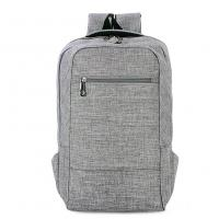 China Environmental Polyester Laptop Bag Backpack With Laptop Sleeve 28*43*12 Cm on sale