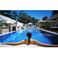 China Large Swimming Pools Design plans / swimming pool construction for Holiday Resort or SPA on sale