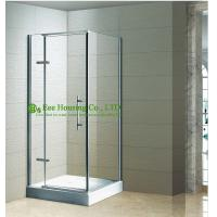 China Shower room best Selling Hinged Bathroom Shower Enclosure,L-shape Hinged Shower Enclosure wholesale