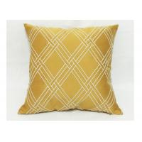 China Modern Style Decorative Sofa Pillows , Embroidered Geometric Throw Pillows wholesale