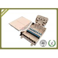 Buy cheap IP65 Grade Fiber Optic Termination Box Waterproof 8core For 1 * 4 / 1 * 8 from wholesalers