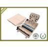 Buy cheap IP65 Grade Fiber Optic Termination Box Waterproof 8core For 1 * 4 / 1 * 8 from wholesalers