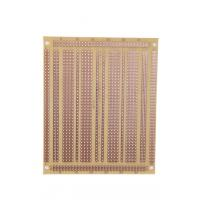 China FR-1 UL94 V0 Electronics PCB Breadboard , Copper Base PCB Board Prototype wholesale
