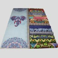 China Travel Mat/lightweight wholesale foldable yoga mat for travel/Suede yoga mat on sale