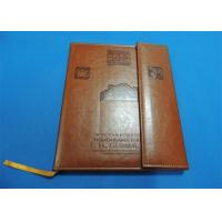 China offset Leather Bound Book Printing wholesale