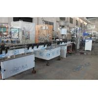 Quality 5000 BPH Linear Water Filling Equipment , Plastic Bottles Liquid Filler Machine for sale