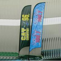 China Advertising Feather Flags , outdoor Flying banners for Tradeshow wholesale