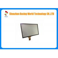 China 10.4-inch Capacity Touch Panel with 6H hardness, black color cover lens,6 pins on sale