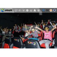 China Amazing 7d Simulator Cinema With Pneumatic / Hydraulic / Electronic Systems wholesale