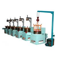 China Pulley Continuous Aluminium Wire Drawing Machine / Copper Wire Drawing Machine on sale