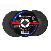 """China 115mm Grinding discs for steel (115 x 6 x 22.2mm) 4.5"""" GRASSLAND wholesale"""