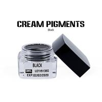China OEM Availble Black Cream Permanent Cosmetic Pigments For Eyebrow wholesale