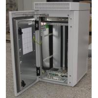 China Outdoor Telecom Cabinet ,Wall Mounted or Pole Mounted, IP55, With Fans and Heater wholesale