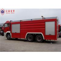 China 6x4 MAN Chassis Water Vacuum Tanker Fire Truck With Direct Injection Diesel Engine Euro 4 Emission wholesale