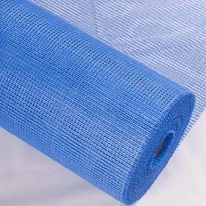 China Blue High Strength Alkali Proof EIFS Fiberglass Mesh wholesale