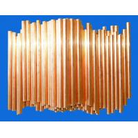 China Chiller / Heaters Doulbe Side Copper Coated Bundy Tube 4.76mm X 0.65mm wholesale