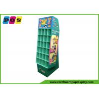 China Promotional Cardboard Pop Displays With Small Pocket Cells And Base Stand POC037 wholesale