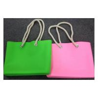 China silicone shoulder bags for woman ,waterproof beach bags and tote wholesale