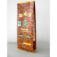 China 100 Micron PET / AL / PE Coffee / Tea Foil Bag Packaging with CMRK / Pantone Printing wholesale