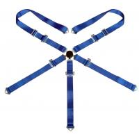 """China 3"""" 5 Point Racing Safety Belts With Polyester Webbing + Steel Buckle wholesale"""