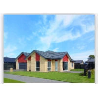 China Villa prefab Steel Frame House Kits With High End Finish 0.3mm plate wholesale