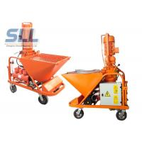 China Self - Suck 3 MPa Model Mortar Spraying Machine With Long Convey Distance wholesale