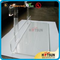 China Lucite shoe racks for sale, shoe store retail acrylic display rack, clear shoe racks for store wholesale