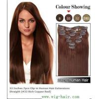 China Indian Remy Clip in Hair Extension,Www.Wig-hair.Com on sale