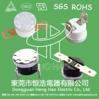 China KSD301 auto  reset thermostat,KSD301 thermal cutout wholesale