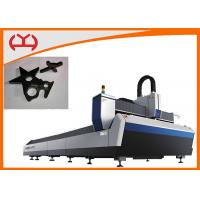 China Sheet Metal IPG Fiber Laser Cutting Machine With SmartNest Composing Software on sale