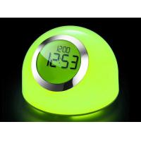 China LED mood lamp with clock and alarm function on sale