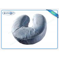 China U - shaped Disposable Pillow Slip Comfortable Neck Guard Non woven Pillow Cover wholesale