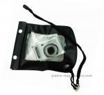 China Portable Waterproof Mobile Cover Diving Black TPU Handphone Case 20x11.5cm Size wholesale